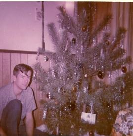 Dad, Christmas 1968